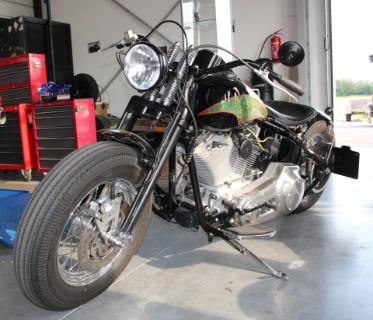 Umbau einer Harley aus 2013