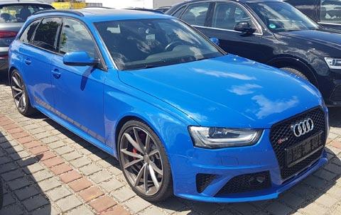 Leasinggutachten Leasingrücknahme Audi RS4